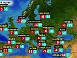 El tiempo en Europa, por países, previsión para el sábado 5 y domingo 6 de marzo