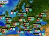 El tiempo en Europa, por países, previsión del viernes 20 y sábado 21 de mayo
