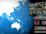 Bolsas; Mercados internacionales: Cierre jueves 18 y media sesión viernes 19 de agosto