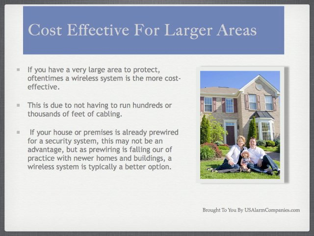 Benefits Of A Wireless Home Security System – Part 2 Of 3