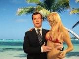 Ο Μεντβέντεφ και οι σέξι ξανθιές (ΒΙΝΤΕΟ)