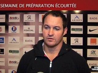 Montpellier-Stade : ITV de D. Human