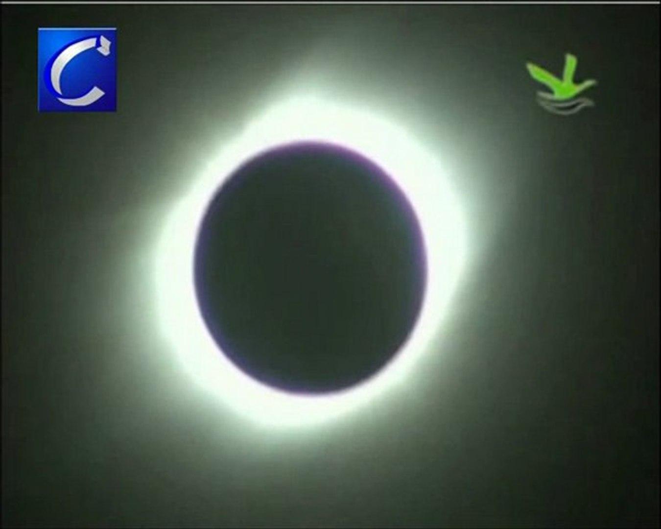 El sur de Asia observó, esta madrugada, el eclipse de sol más largo del siglo XXI