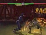 Mortal Kombat vs DC Universe (360) - Les systèmes de Kombat