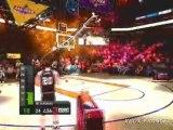 NBA Live 09 (360) - XBTV : Concours de 3 points