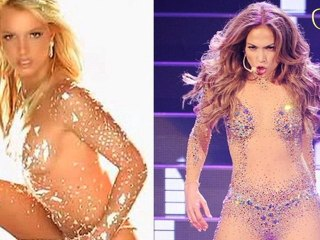 JLO vs Britney  Naked Faceoff