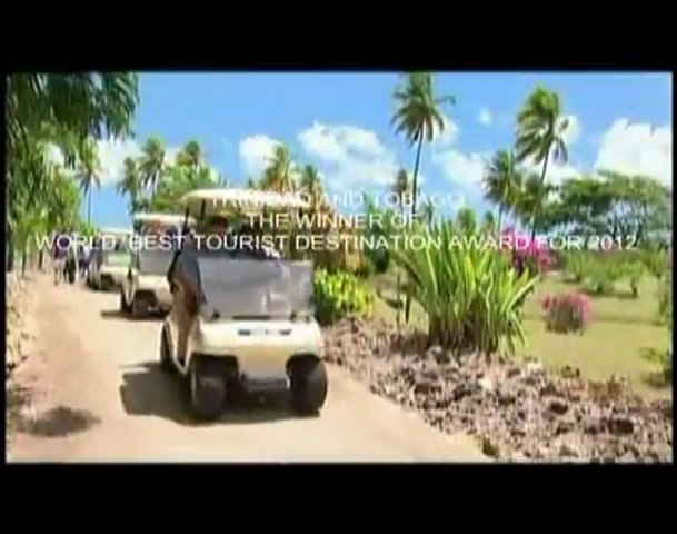 WORLD BEST TOURIST DESTINATION FOR TRINIDAD AND TOBAGO IN 2012