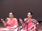 DR. NAG RAO PRESENTS RANJANI AND GAYATRI IN CONCERT IN CLEVELAND, OHIO:  PART -3
