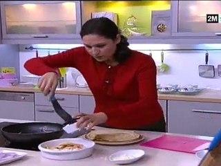 Choumicha Recette - Crêpes sucrées et salées