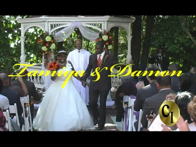 Damon and Tamiya Woodard Wedding Video (Capture It Graphics and Video -CIGVideo)