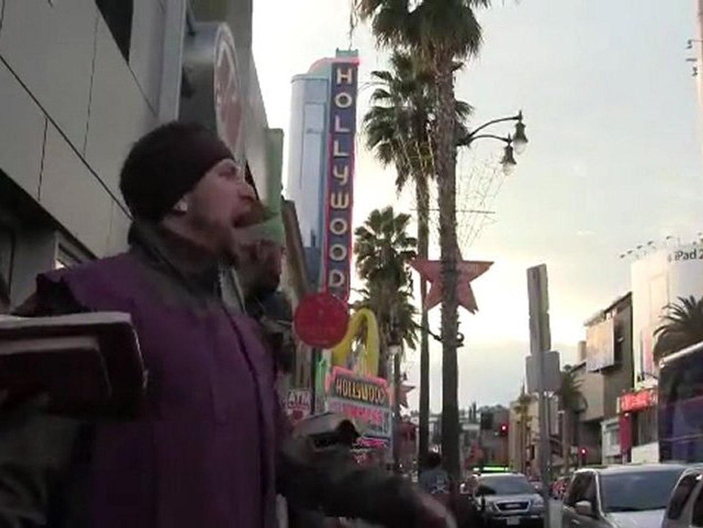 3.GMS LA & SEATTLE WAGING SPIRITUAL WARFARE IN HOLLYWOOD! P3