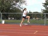 Échauffement athlétisme, demi-fond, course à pied et cross-country - Étirements et éducatifs