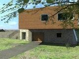 Villa BBC bio climatique, écologique et contemporaine en Ossature Bois et pierre de Corse