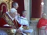 Benoît XVI appelle au dialogue au Proche-Orient