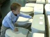 Dustin Kruse, l'enfant qui aime les toilettes