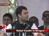 Congress Leader Rahul Gandhi in Bhojpur (U.P) Part 15