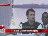 Congress Leader Rahul Gandhi in Dataganj (U.P) Part 10