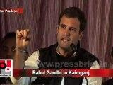 Rahul Gandhi in Kaimganj (U.P) , Congress General Secretary,  Congress I, Congress Party, Rahul Gandhi aicc Congress Leader Rahul Gandhi in Kaimganj (U.P) Part 9