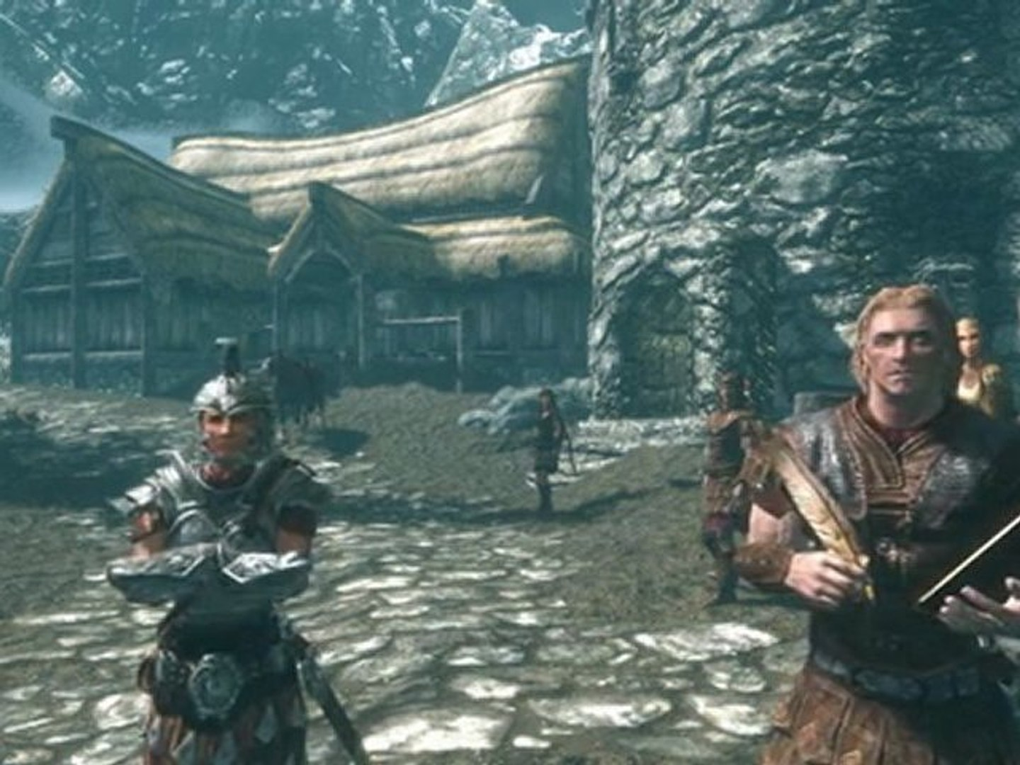 Lets Play Naked Skyrim Part 1
