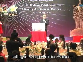White Truffle Charity Auction