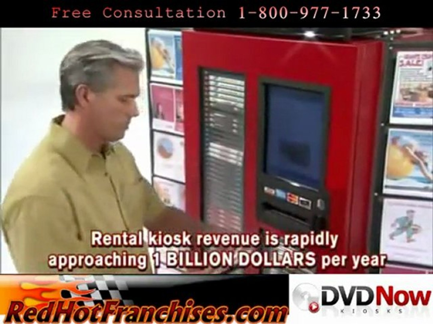 DVD Now Kiosk Franchise The Leading automated DVD Rental