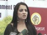 Sexy Bollywood Actress Celina Jaitly At 'World Environment Day 2011'