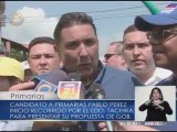 Pablo Pérez compara a Chávez con Herodes y pide indulto para presos políticos