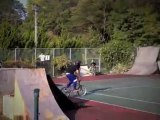 Triple Tail Whip BMX