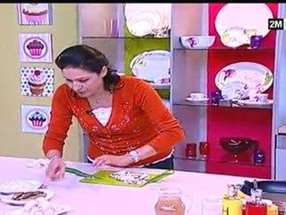 Choumicha Recette Noel - Saumon à la Sauce Champignon