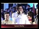 Bollywood Actors Govinda & Suniel Shetty At Chatt Pooja