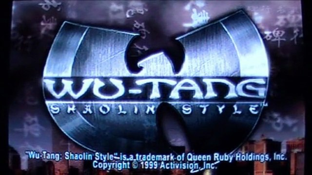 First Level - Test - Wu-Tang : Shaolin Style - Playstation