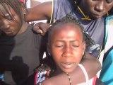 Bonne année 2012 Minimes HLM Basket Club de Dakar