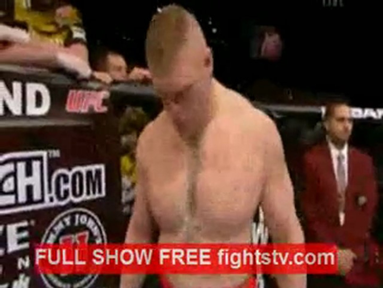 Brock Lesnar Vs Alistair Overeem Full Fight Video Dailymotion