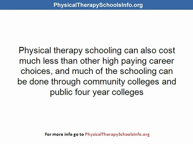 Physical Therapist Colleges And Other Hot Healthcare Jobs