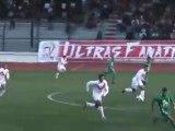 1ére mi temps du Match CR Belouizdad 2-0 ES Mostaganem [ 32/1 Finale de la Coupe d'Algerie 2011/2012  ]