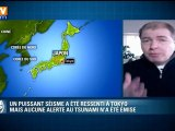 Puissant séisme ressenti à Tokyo, pas d'alerte au tsunami
