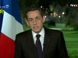 Ce qu'il faut retenir des voeux de Nicolas Sarkozy aux Français