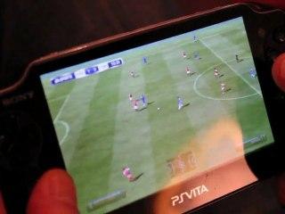 PlayStation Vita hands-on demo de FIFA Football