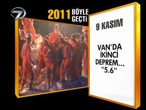 2011 Yılı Böyle geçti Kanal7 haber 31 Aralık 2011