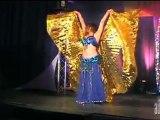 AUTOUR D'UN VERRE - Téléthon 2011 - MANON BONNARD - Danse Orientale - présenté par Pierre Leroy & Michel Mitran