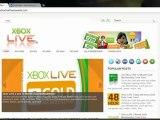 Xbox live Rewards codes 10,000 Microsoft Points 2013