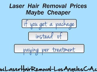 Laser Hair Removal Los Angeles Cost