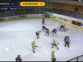 Chamonix VS Strasbourg 3ème tiers Ligue magnus 14ème journée