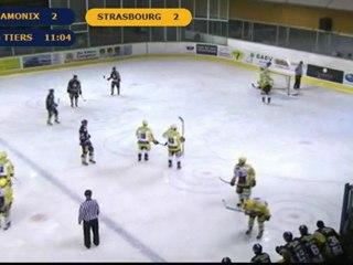 Chamonix VS Strasbourg 2ème tiers Ligue magnus 14ème journée
