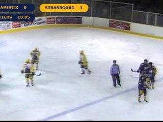 Chamonix VS Strasbourg 1er tiers  Ligue magnus 14ème journée