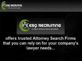 Trusted Attorney Search Firms
