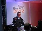 François Bayrou - voeux a la presse pour l'année 2012