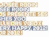 Le musée Rodin vous présente ses meilleurs voeux!!