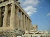 l' acropole d'Athénes
