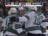 Sharks vs Canucks 1/02/12